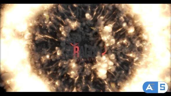 Videohive Fire Shockwave Logo Reveal 33108967