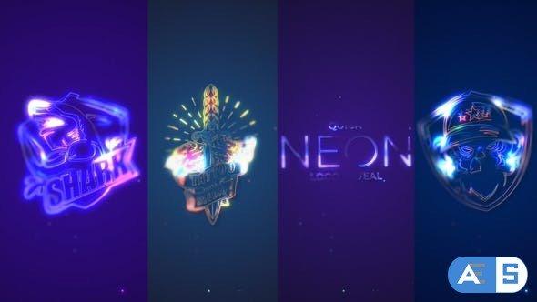 Videohive Quick Neon Logo Reveal 33149288