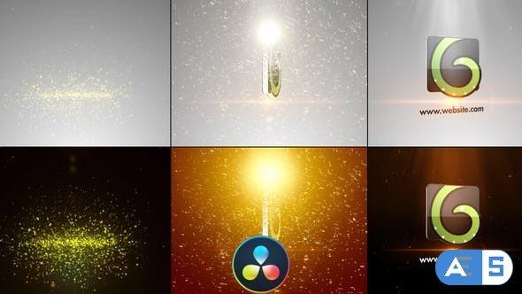 Videohive Elegant Glitters Logo – DaVinci Resolve 33030814
