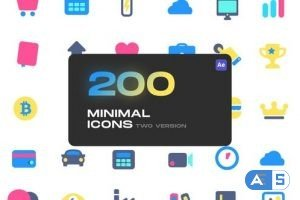Videohive Cute Minimal Icons 33152272