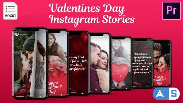 Videohive Love – Instagram Stories for Premiere Pro 32544779