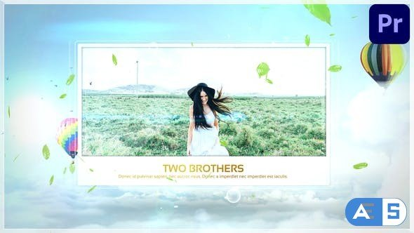 Videohive Clouds Opener 33169794