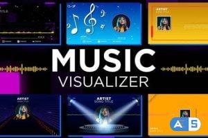 Videohive Music Visualizer Pack 33196162