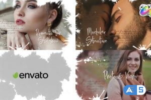 Videohive Ink Slideshow | FCPX 33097511