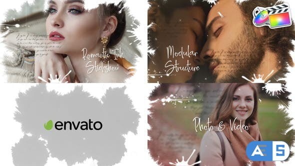 Videohive Ink Slideshow   FCPX 33097511