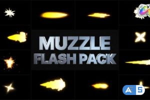 Videohive Muzzle Flash Pack 02 | FCPX 33060868