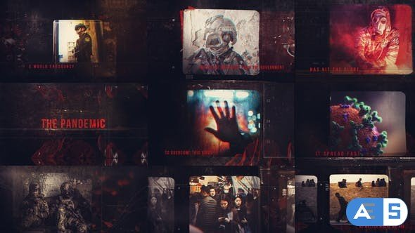 Videohive The Pandemic Montage 26109394