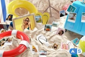 Videohive Photo Gallery on Summer Beach 33088877