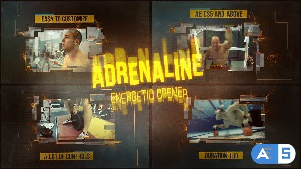 Videohive Adrenaline 16309609