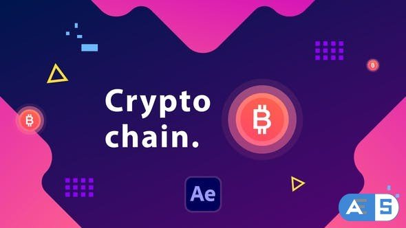 Videohive Cryptochain Corporate Slideshow | After Effects 33119395
