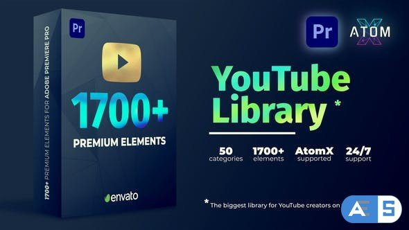 Videohive Youtube Pack – Transitions V2.1 27009072