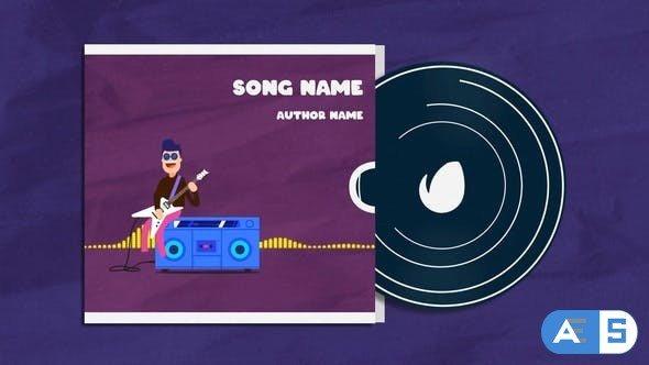 Videohive Guitar Player Music Visualizer 33043128