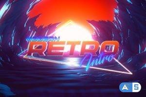 Videohive Modern Retro Intro 33081214