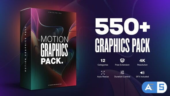 Videohive Motion Graphics Pack // 550+ Animations Pack V2.1 23678923