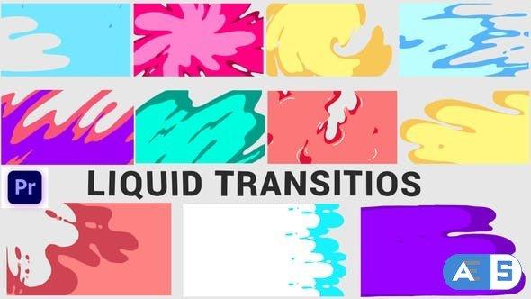 Videohive Liquid Transition 33077015