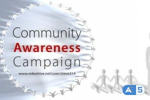 Videohive Community Awareness Campaign – Human Chain Intro 7005882