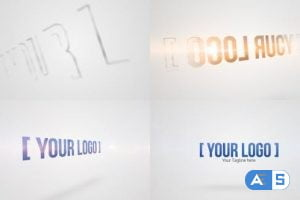 Videohive Quick Clean Contour Logo 2 33154668