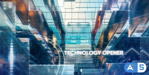 Videohive Technology/Hi-tech Opener 19354118