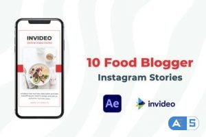Videohive Food Blogger Instagram Story 32927940