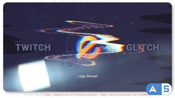 Videohive Twitch Glitch Logo Reveal 33167553