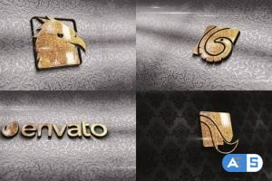 VIDEOHIVE CARVING GOLD LOGO 33008756