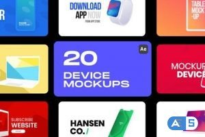 Videohive Device Mockups 33121365