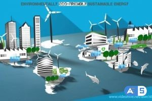 Videohive Environmentally Eco-friendly & Sustainable Energy 8785082