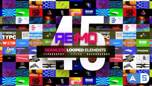 Videohive REMO – Looped Elements! 23861282