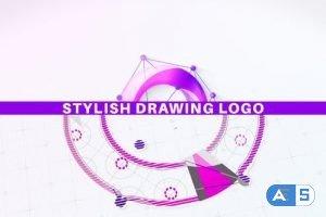 Videohive Stylish Drawing Logo 30953989