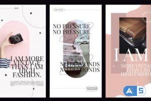Videohive Modern art stories fashion 33060858