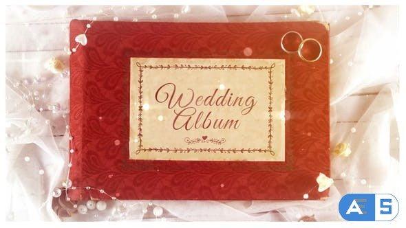 Videohive Wedding Day Album Opener 33121746
