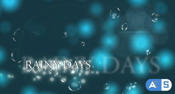 Videohive Rainy Days 129771