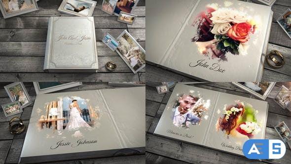Videohive Wedding Book Slideshow 32825923