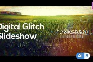 Videohive – Digital Glitch Slideshow for Premiere Pro – 33336909
