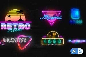 Videohive – Neon Creative Titles – 33379939