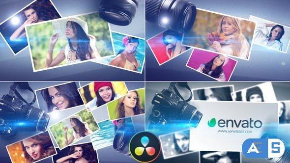 Videohive – Photographers Logo – DaVinci Resolve – 33185618