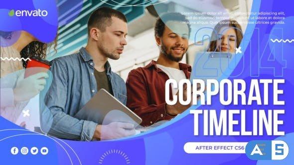 Videohive Corporate Timeline Slideshow 30528826