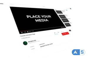 Videohive Subscribe To The YouTube Channel Intro 33521166