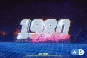 Videohive Retro Wave City Logo 24937810