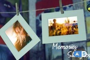 Videohive – Memories Slideshow – Photo Gallery for DaVinci Resolve – 33506707