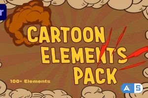 Videohive – Cartoon Elements Pack – 33501922