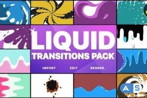 Videohive – Liquid Motion Transitions Pack | DaVinci Resolve – 33492145