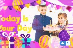 Videohive – Happy Birthday Slideshow – 33482717