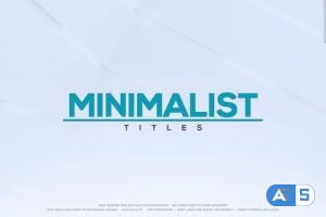 Videohive – Minimalist Titles for FCPX – 33451675