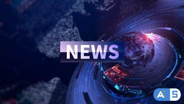 Videohive Logo Reveal & Logo News 33316878