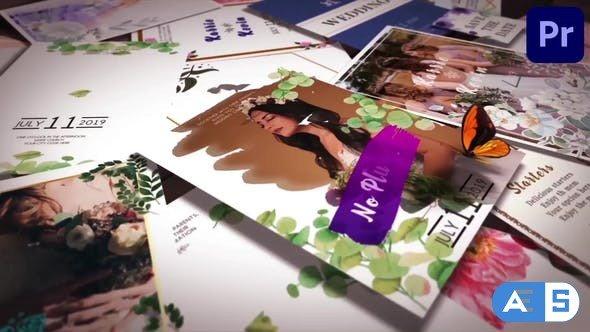 Videohive – Wedding Invitation Slideshow Mogrt 31 – 33573439