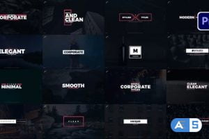 Videohive – Typography For Premiere Pro – 33571813