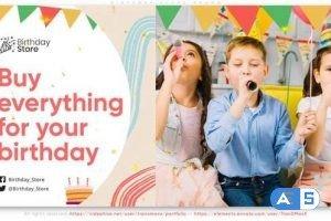 Videohive Birthday Store Promo 33650582