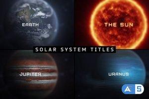 Videohive Macro Planets Titles 30143773