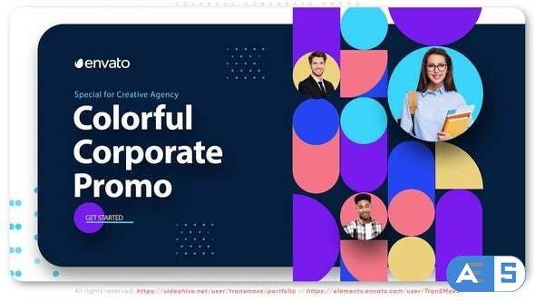 Videohive Colorful Corporate Promo 33306240